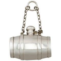 Victorian Sterling Silver Combination Scent Bottle/Pill Box /Vinaigrette