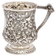 Victorian Sterling Silver Pedestal-Based Mug or Cup