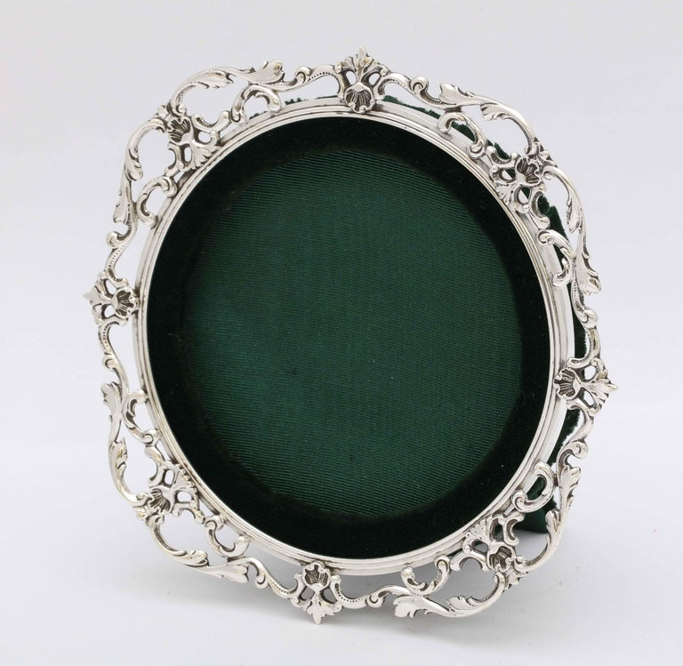 Victorian Sterling Silver Picture Frame by Gorham For Sale 3