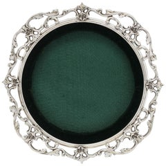 Victorian Sterling Silver Picture Frame by Gorham