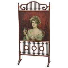 Victorian Stick and Ball Screen