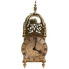 Victorian Striking Lantern Mantel Clock