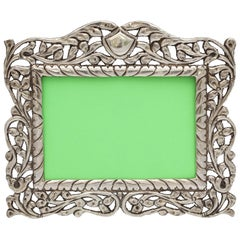 Victorian Style Continental Silver '.800' Picture Frame