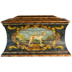 Victorian Style Hand Painted Treasure Chest