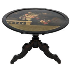 Victorian Style Painted Occasional Table