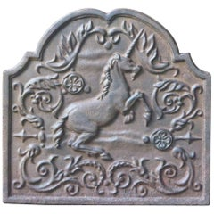 Victorian Style 'Unicorn' Fireback