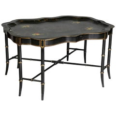 Victorian Tole Tray Coffee Table
