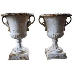 Victorian Urns 'Pair' Vintage