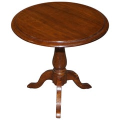 Victorian Walnut Salesman Sample Miniature Occasional Table Great Cake Stand