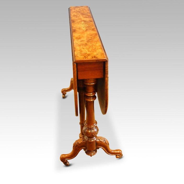 Victorian Walnut Sutherland Table At 1stdibs