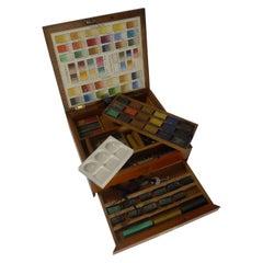Victorian Watercolour Box by Winsor & Newton