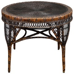 Victorian Wicker Table