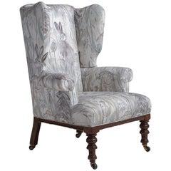 Victorian Wingback Chair, England, circa 1840