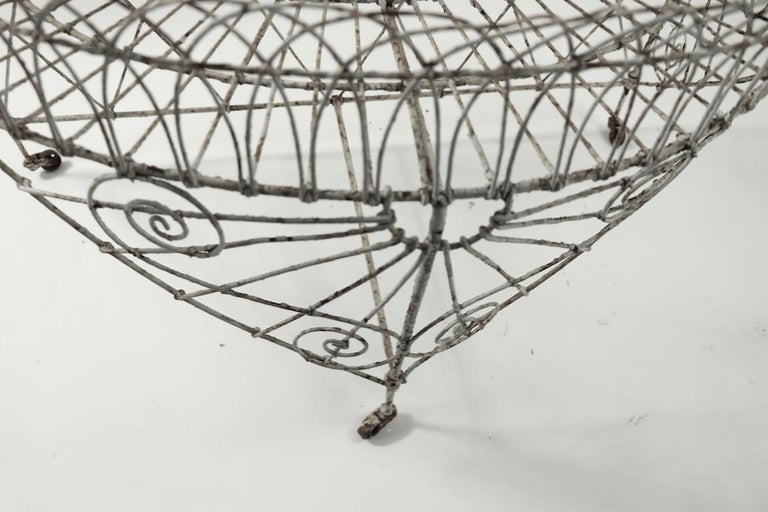 Victorian Wire Plant Stand In Good Condition For Sale In New York, NY