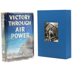 Victory Through Air Power, Signed by Alexander de Saversky, First Edition, 1942
