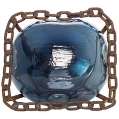Videodrome by Lorenzo Passi Glass and Metal Art