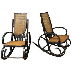Viener Werkstatte Rocking Chair