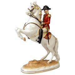 Vienna Augarten Horse Courbette Spanish Riding School Albin Döbrich Mnr 1595