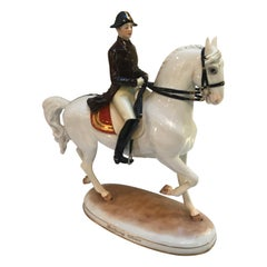 Vienna Augarten Piaffe Spanish Riding School Porcelain Horse