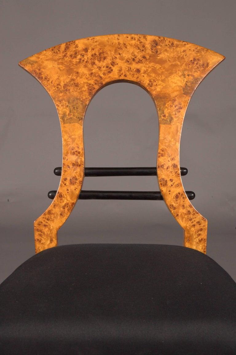 Vienna Biedermeier Chair after Josef Danhauser For Sale 3