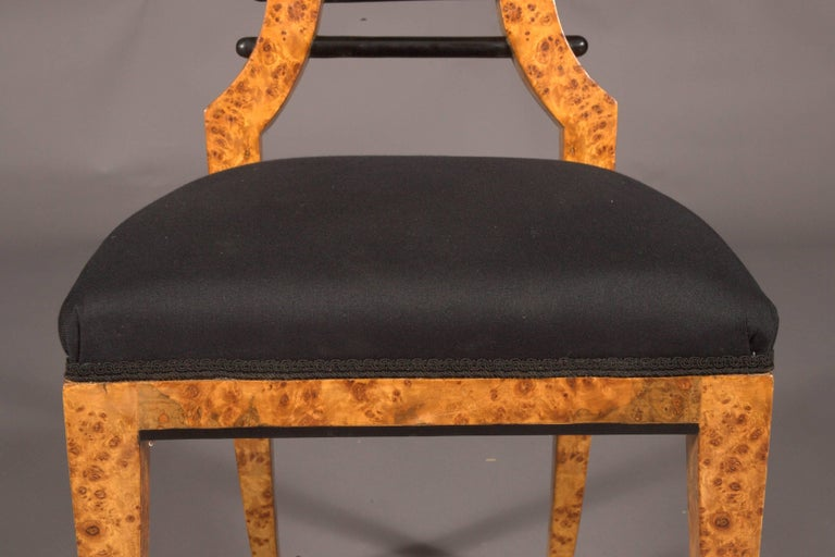 German Vienna Biedermeier Chair after Josef Danhauser For Sale