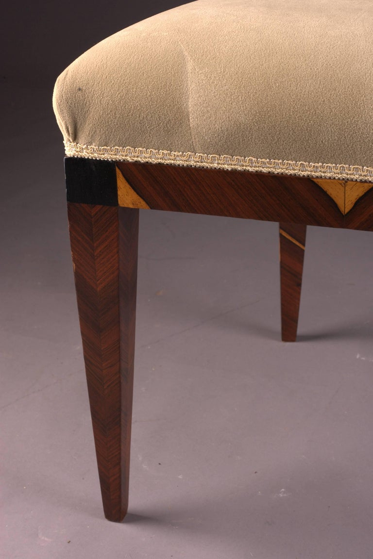Veneer Vienna Biedermeier Chair After Josef Danhauser For Sale