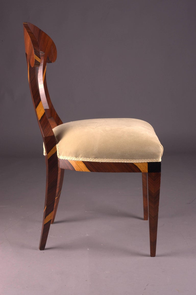Palisander Vienna Biedermeier Chair After Josef Danhauser For Sale