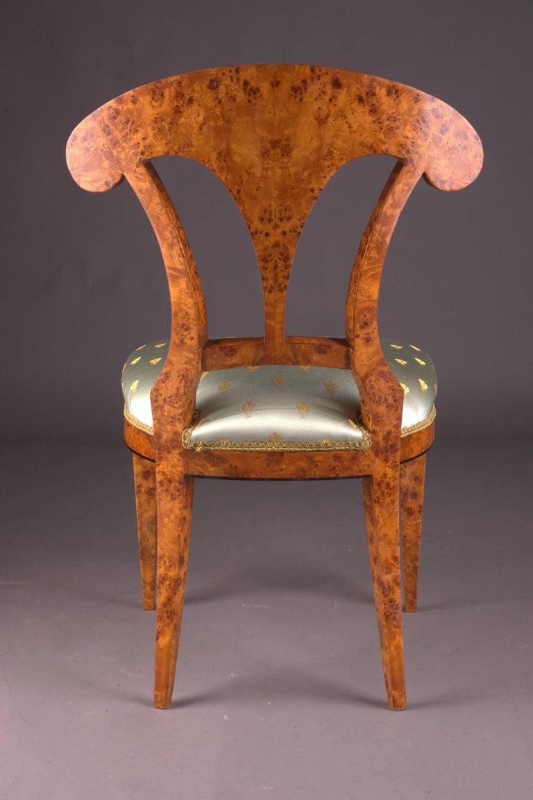 Vienna Biedermeier Chair After Josef Danhauser For Sale 1