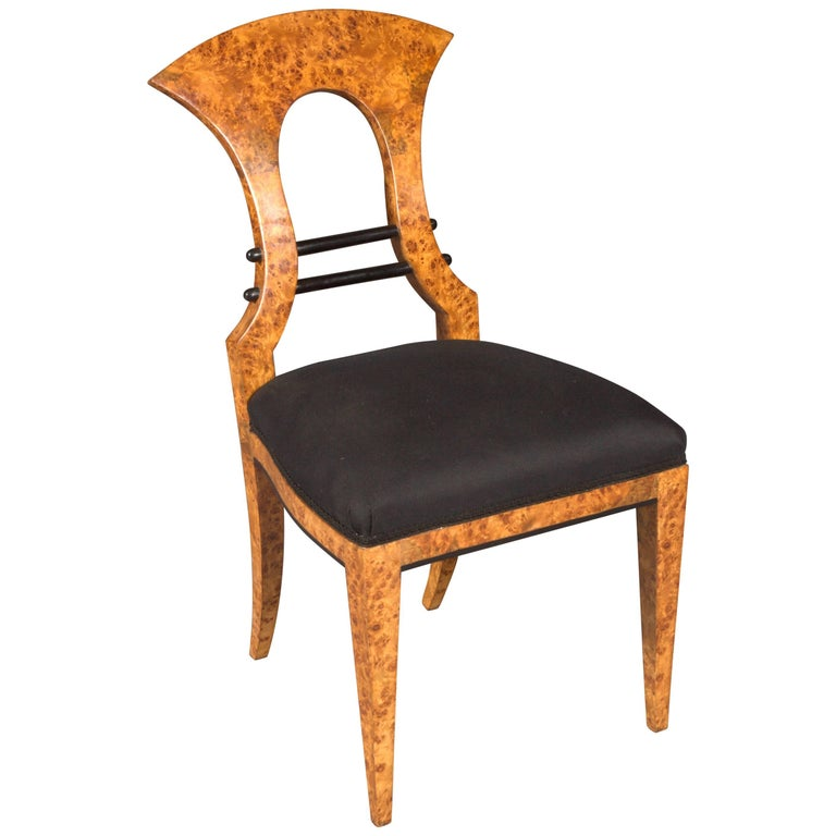 Vienna Biedermeier Chair after Josef Danhauser For Sale