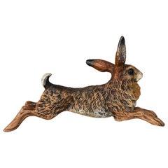 Vienna Bronze Hare, circa 1900