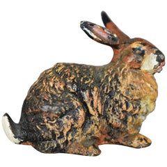 Vienna Bronze Rabbit, circa 1900