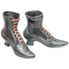 Vienna Bronzes, Pair of Old Shoes, circa 1910