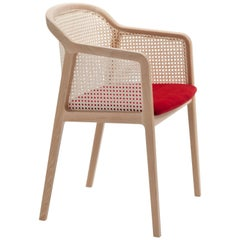 Vienna Little Armchair, Contemporary Design Inspired by Straw Traditional Chairs