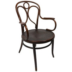 Vienna Secession Bentwood Chair by Fischel