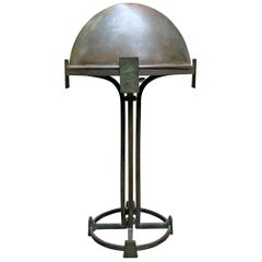 Vienna Secession Bronze Table Lamp