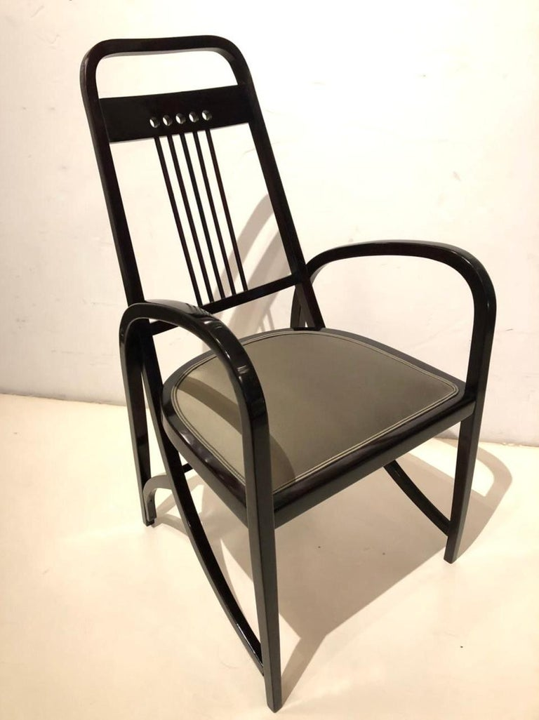 A Vienna secession Thonet bentwood armchair #511.