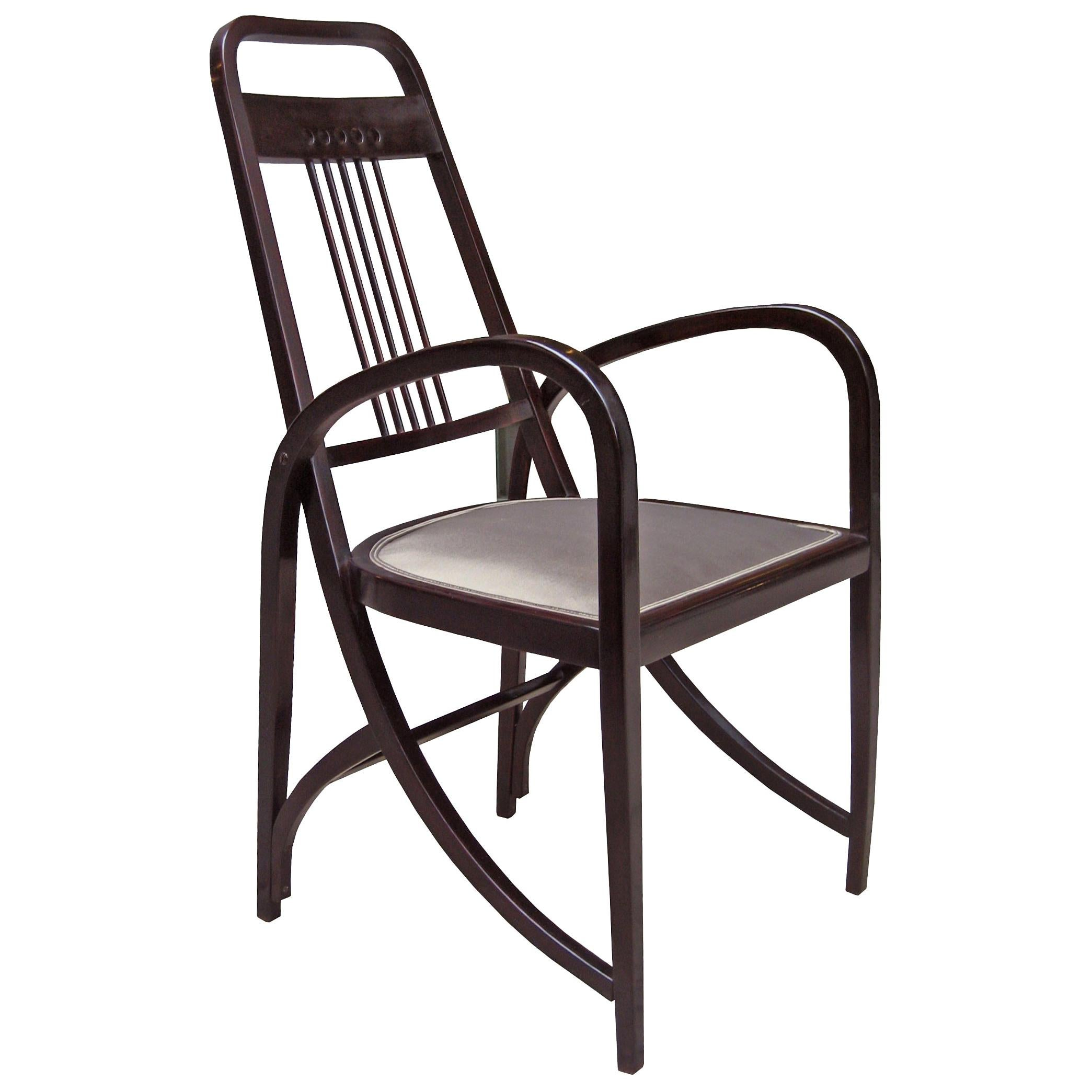 Vienna Secession Thonet Bentwood Armchair