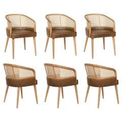 Vienna Straw Dining Chairs Set Of 6