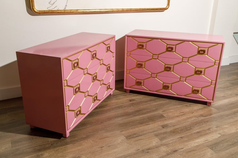Viennese Collection Dressers by Dorothy Draper for Henredon, circa 1960, Signed For Sale 2