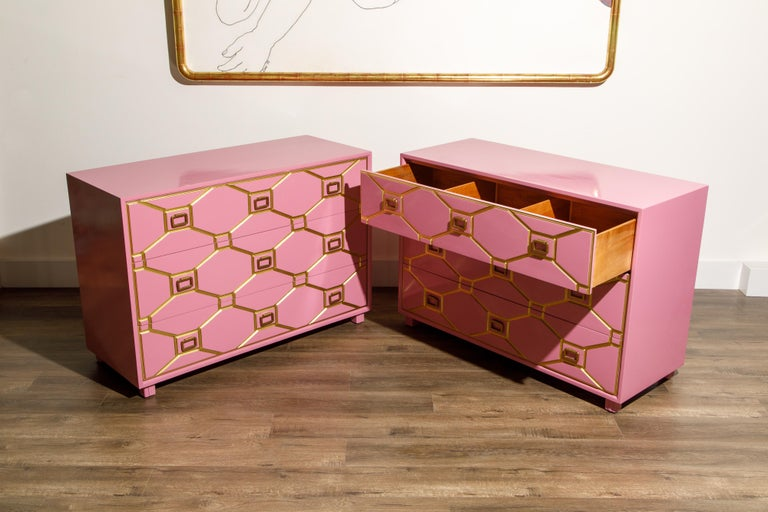 Viennese Collection Dressers by Dorothy Draper for Henredon, circa 1960, Signed For Sale 6