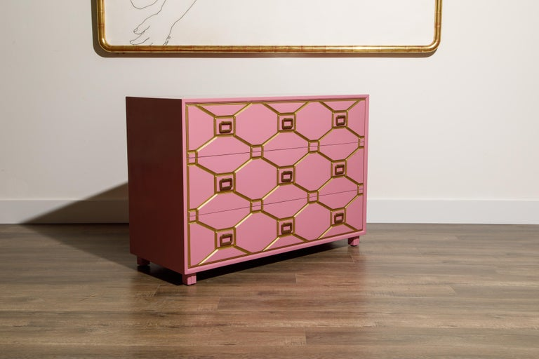 Viennese Collection Dressers by Dorothy Draper for Henredon, circa 1960, Signed For Sale 9