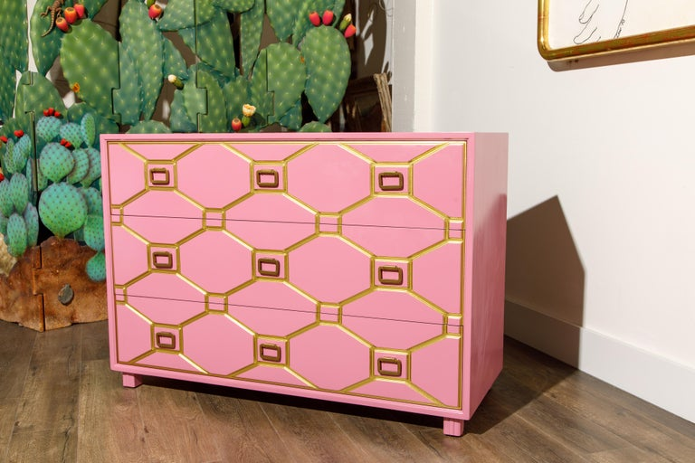 Viennese Collection Dressers by Dorothy Draper for Henredon, circa 1960, Signed For Sale 12