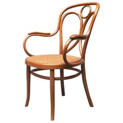 Viennese Early 20th Century Thonet Chair in Solid Wood, 1900s