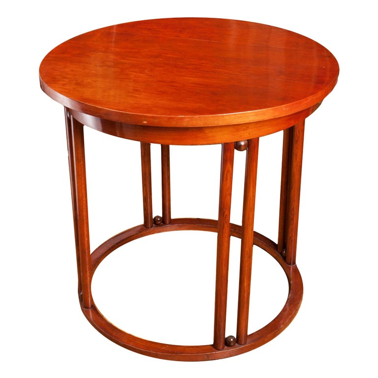 Viennese Fledermaus Table by Josef Hoffmann, 1910s For Sale