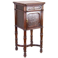 Viennese Nightstand, Bedside Table Jacob & Josef Kohn Nr. 3, circa 1900