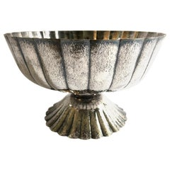 Viennese Secessionist Silver Footed Bowl after a Design by Josef Hoffmann