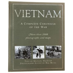 Vietnam A Complete Chronicle of The War Hardcover Book