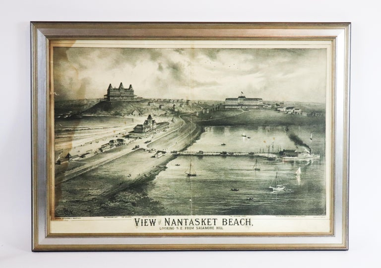 20th Century View of Nantasket Beach, Hull, Massachusetts For Sale