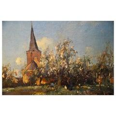 View on Kortenhoef 'Netherlands', Aris Knikker, 1887-1962, The Hague