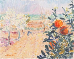 'Mediterranean Orange Grove', Paris Modernist, Royal Danish Academy of Fine Arts